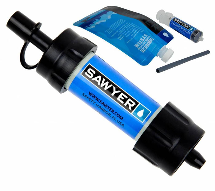 Sawyer Mini waterfilter Review