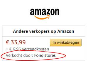 verkopen door derden via Amazon Nederland