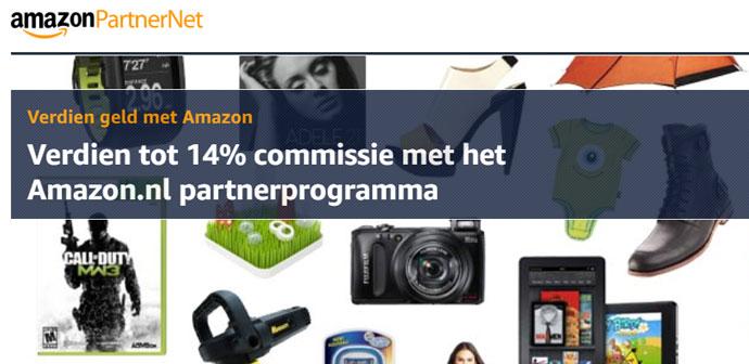 geld verdienen als affiliate via amazon.nl partnernet