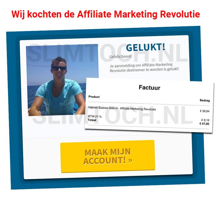 kopen affiliate marketing revolutie