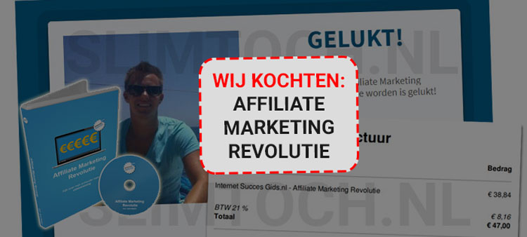 affiliate marketing revolutie review