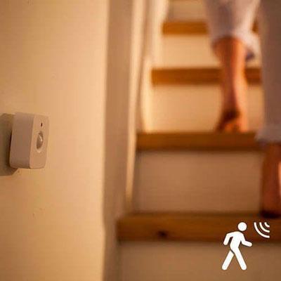bewegingssensor automatische lamp